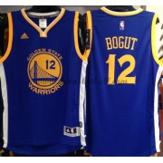 Golden State Warriors Basketball Trikots 2015-16 Andrew Bogut 12# Road Trikot Swingman