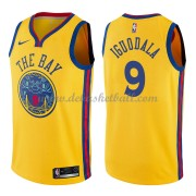 Golden State Warriors Basketball Trikots 2018 Andre Iguodala 9# City Swingman..