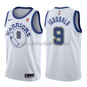 Golden State Warriors Basketball Trikots 2018 Andre Iguodala 9# White Hardwood Classics Swingman..