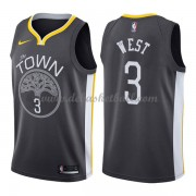 Golden State Warriors Basketball Trikots 2018 David West 3# Alternate Trikot Swingman..