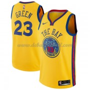 Golden State Warriors Basketball Trikots 2018 Draymond Green 23# City Swingman..