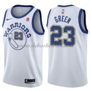 Golden State Warriors Basketball Trikots 2018 Draymond Green 23# White Hardwood Classics Swingman..
