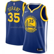 Golden State Warriors Basketball Trikots 2018 Kevin Durant 35# Road Trikot Swingman..