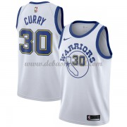 Golden State Warriors Basketball Trikots 2018 Stephen Curry 30# White Hardwood Classics Swingman..