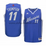 Herren Golden State Warriors 2015 Klay Thompson 11# NBA Christmas Wars Basketball Swingman Trikot..