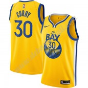 Golden State Warriors Basketball Trikots NBA 2019-20 Stephen Curry 30# Gold Finished Statement Editi..