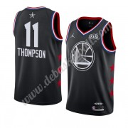 Golden State Warriors Basketball Trikots 2019 Klay Thompson 11# Schwarz All Star Game Swingman..