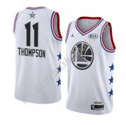 Golden State Warriors Basketball Trikots 2019 Klay Thompson 11# Weiß All Star Game Swingman..