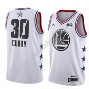 Golden State Warriors Basketball Trikots 2019 Stephen Curry 30# Weiß All Star Game Swingman..