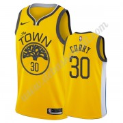 Golden State Warriors Basketball Trikots NBA 2019-20 Stephen Curry 30# Gold Earned Edition Swingman..