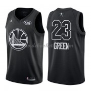 Golden State Warriors Basketball Trikots Draymond Green 23# Black 2018 All Star Game Swingman..