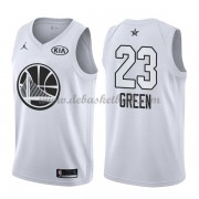 Golden State Warriors Basketball Trikots Draymond Green 23# White 2018 All Star Game Swingman..