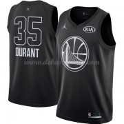 Golden State Warriors Basketball Trikots Kevin Durant 35# Black 2018 All Star Game Swingman..