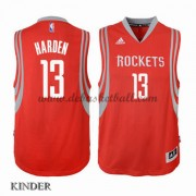 Basketball Trikot Kinder Houston Rockets 2015-16 James Harden 13# Road Swingman..