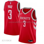 Basketball Trikot Kinder Houston Rockets 2018 Chris Paul 3# Road Swingman..