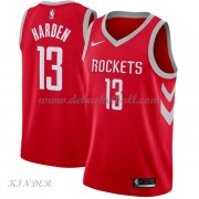 Basketball Trikot Kinder Houston Rockets 2018 James Harden 13# Road Swingman..