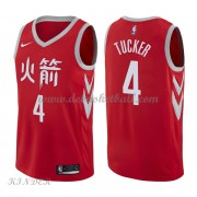 Basketball Trikot Kinder Houston Rockets 2018 P.J. Tucker 2# City Swingman..