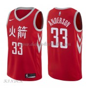 Basketball Trikot Kinder Houston Rockets 2018 Ryan Anderson 33# City Swingman..
