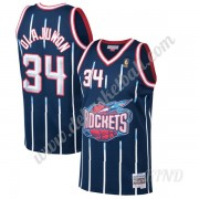 Basketball Trikot Kinder Houston Rockets 1996-97 Hakeem Olajuwon 34# Marine Hardwood Classics Swingm..