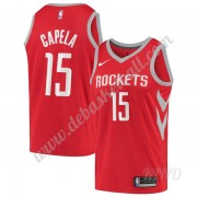 Basketball Trikot Kinder Houston Rockets 2019-20 Clint Capela 15# Rot Icon Edition Swingman..