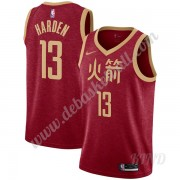 Basketball Trikot Kinder Houston Rockets 2019-20 James Harden 13# Rot City Edition Swingman..