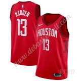 Basketball Trikot Kinder Houston Rockets 2019-20 James Harden 13# Rot Earned Edition Swingman