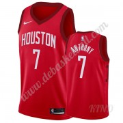 Basketball Trikot Kinder Houston Rockets 2019-20 Carmelo Anthony 7# Rot Earned Edition Swingman..