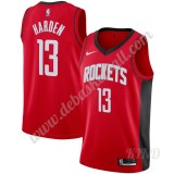Basketball Trikot Kinder Houston Rockets 2019-20 James Harden 13# Rot Icon Edition Swingman