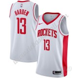 Basketball Trikot Kinder Houston Rockets 2019-20 James Harden 13# Weiß Association Edition Swingman