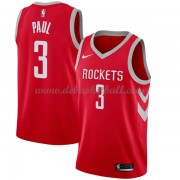 Houston Rockets Basketball Trikots 2018 Chris Paul 3# Road Trikot Swingman..