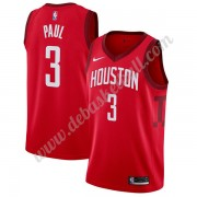 Houston Rockets Basketball Trikots NBA 2019-20 Chris Paul 3# Rot Earned Edition Swingman..