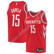 Houston Rockets Basketball Trikots NBA 2019-20 Clint Capela 15# Rot Icon Edition Swingman..