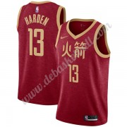 Houston Rockets Basketball Trikots NBA 2019-20 James Harden 13# Rot City Edition Swingman..