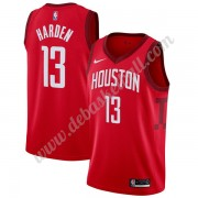 Houston Rockets Basketball Trikots NBA 2019-20 James Harden 13# Rot Earned Edition Swingman..