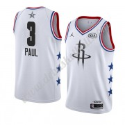 Houston Rockets Basketball Trikots 2019 Chris Paul 3# Weiß All Star Game Swingman..