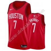 Houston Rockets Basketball Trikots NBA 2019-20 Carmelo Anthony 7# Rot Earned Edition Swingman..