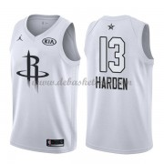 Houston Rockets Basketball Trikots James Harden 13# White 2018 All Star Game Swingman..