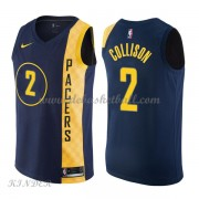 Basketball Trikot Kinder Indiana Pacers 2018 Darren Collison 2# City Swingman..