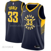 Basketball Trikot Kinder Indiana Pacers 2018 Myles Turner 33# Road Swingman..