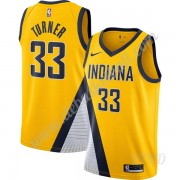 Basketball Trikot Kinder Indiana Pacers 2019-20 Myles Turner 33# Gold Finished Statement Edition Swi..