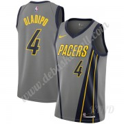 Basketball Trikot Kinder Indiana Pacers 2019-20 Victor Oladipo 4# Grau City Edition Swingman..
