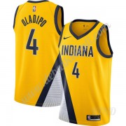 Basketball Trikot Kinder Indiana Pacers 2019-20 Victor Oladipo 4# Gold Finished Statement Edition Sw..