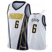 Basketball Trikot Kinder Indiana Pacers 2019-20 Cory Joseph 6# Weiß Earned Edition Swingman..