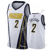 Basketball Trikot Kinder Indiana Pacers 2019-20 Darren Collison 2# Weiß Earned Edition Swingman..