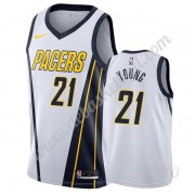 Basketball Trikot Kinder Indiana Pacers 2019-20 Thaddeus Young 21# Weiß Earned Edition Swingman..