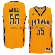 Indiana Pacers Basketball Trikots 2015-16 Roy Hibbert 55# Alternate Trikot Swingman..