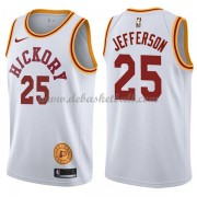 Indiana Pacers Basketball Trikots 2018 Al Jefferson 25# White Hardwood Classics Swingman..