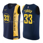 Indiana Pacers Basketball Trikots 2018 Myles Turner 33# City Swingman..