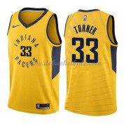 Indiana Pacers Basketball Trikots 2018 Myles Turner 33# Alternate Trikot Swingman..