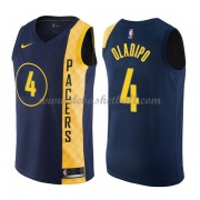 Indiana Pacers Basketball Trikots 2018 Victor Oladipo 4# City Swingman..